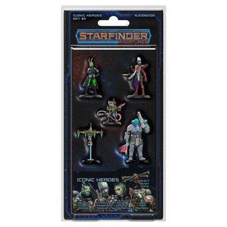 Starfinder RPG: Miniatures - Iconic Heroes Set 2