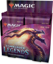 Load image into Gallery viewer, Magic the Gathering: Commander Legends - Collector Booster Display (12)