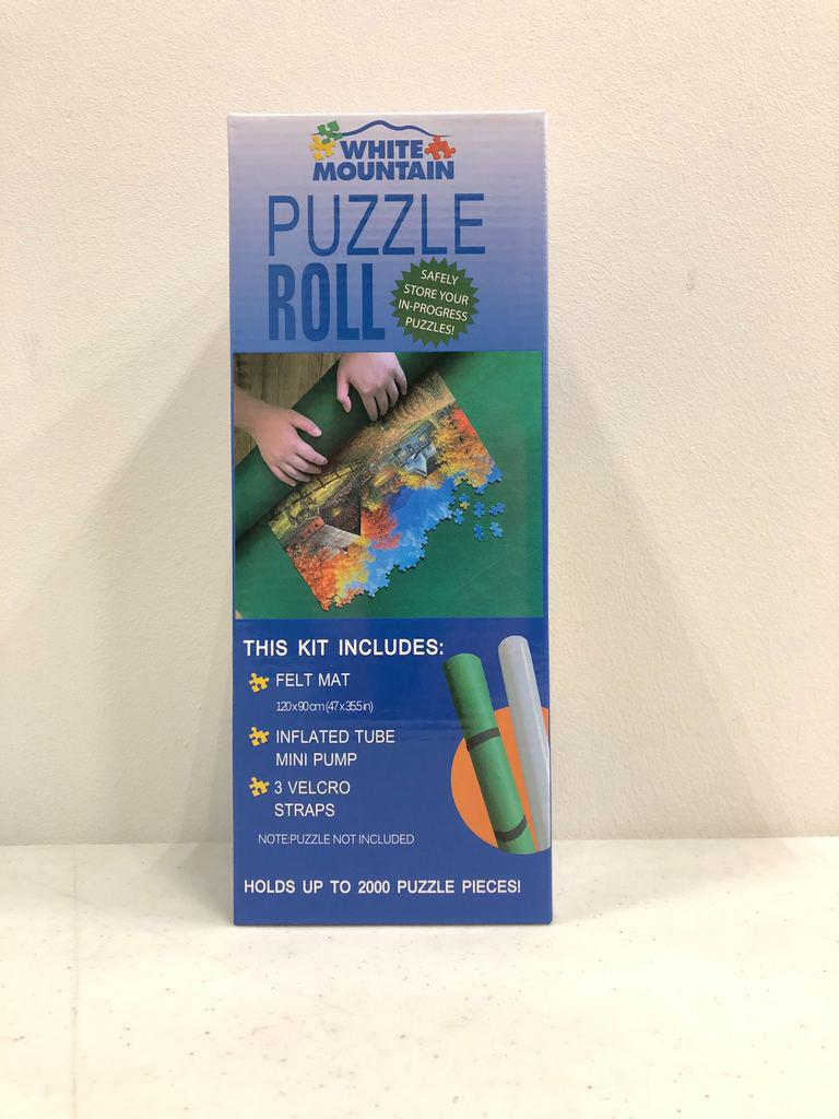 White Mountain Puzzles: Puzzle Roll-Up Mat