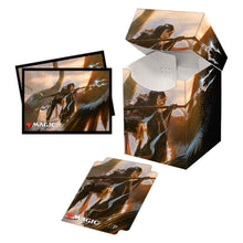 Load image into Gallery viewer, Ultra Pro: Pro-100+ Deck Box - with 100 Matching Sleeves - Commander Legends V4 - for Magic the Gathering