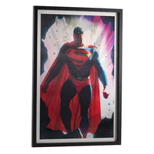 Load image into Gallery viewer, Superman Lenticular Framed Wall Hang