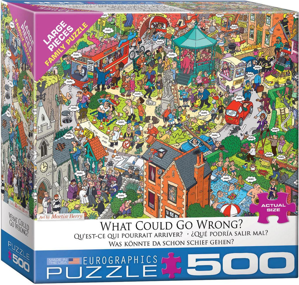 EuroGraphics: What Could go Wrong? by Martin Berry - 500-Piece Puzzle