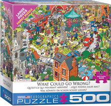 Load image into Gallery viewer, EuroGraphics: What Could go Wrong? by Martin Berry - 500-Piece Puzzle