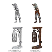 Load image into Gallery viewer, WizKids Deep Cuts Miniatures: Hanging Cage - Wave 12.5 Unpainted (WZK90211)