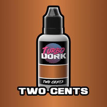 Load image into Gallery viewer, Turbo Dork: Metallic Acrylic Paint- Two Cents (20ml)