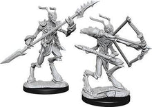 Load image into Gallery viewer, D&D Nolzur's Marvelous Miniatures - Thri-Kreen - Unpainted (WZK73352)