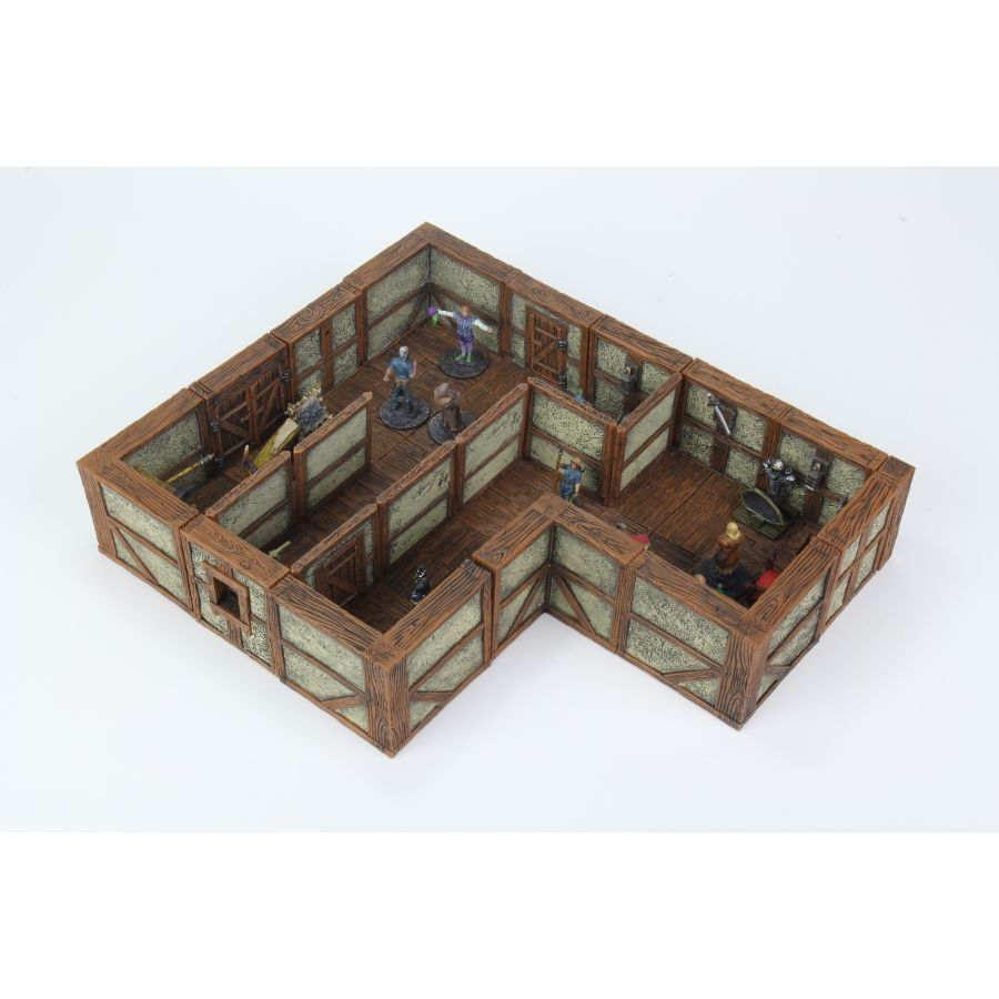 WizKids: Warlock Tiles - Town and Village II Expansion