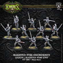 Load image into Gallery viewer, Hordes: Legion Of Everblight - Blighted Nyss Archers/Swordsmen - Unit (10)(Plastic)