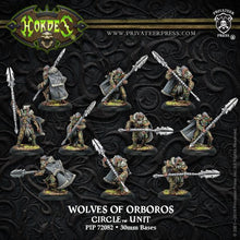 Load image into Gallery viewer, Hordes: Circle of Orboros - Reeves & Wolves Unit (Plastic)