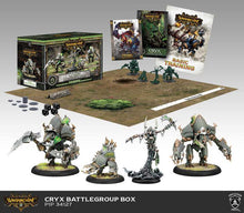 Load image into Gallery viewer, Warmachine: Cryx - Battlegroup Box Starter Set (Plastic)