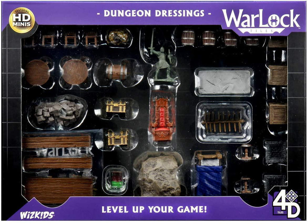 WizKids: Warlock Tiles - Dungeon Dressings