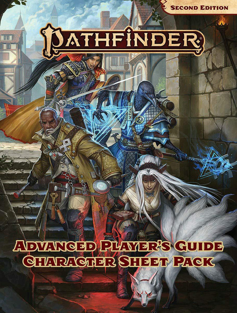 Pathfinder RPG: Second Edition - Advanced Player's Guide - Character Sheet Pack