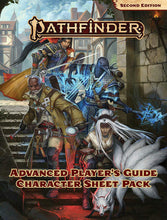 Load image into Gallery viewer, Pathfinder RPG: Second Edition - Advanced Player's Guide - Character Sheet Pack