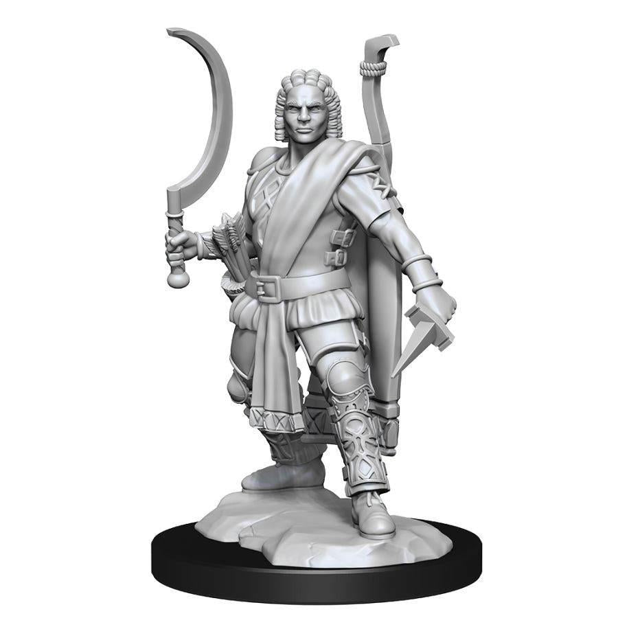 D&D Nolzur's Marvelous Miniatures - Human Male Ranger - Wave 13 Unpainted (WZK90142)