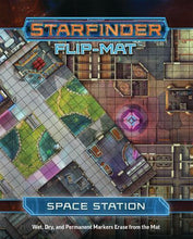 Load image into Gallery viewer, Starfinder RPG: Flip-Mat - Space Station