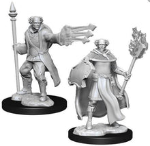 Load image into Gallery viewer, D&D Nolzur's Marvelous Miniatures - Multiclass Male Cleric-Wizard - Wave 13 Unpainted (WZK90151)