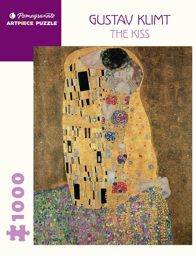 Pomegranate ArtPiece Puzzles: Gustav Klimt - The Kiss - 1000 Piece Puzzle