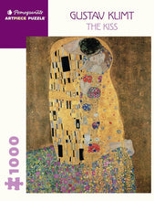 Load image into Gallery viewer, Pomegranate ArtPiece Puzzles: Gustav Klimt - The Kiss - 1000 Piece Puzzle