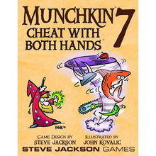 Load image into Gallery viewer, Munchkin: Cheat with Both Hands - Expansion 7