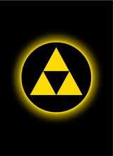 Load image into Gallery viewer, Legion: Double Matte-Finish Sleeves - Absolute Iconic Triforce (50)