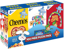 Load image into Gallery viewer, White Mountain Puzzles: Mini Cereal Boxes - Six 100 Piece Puzzle Pack