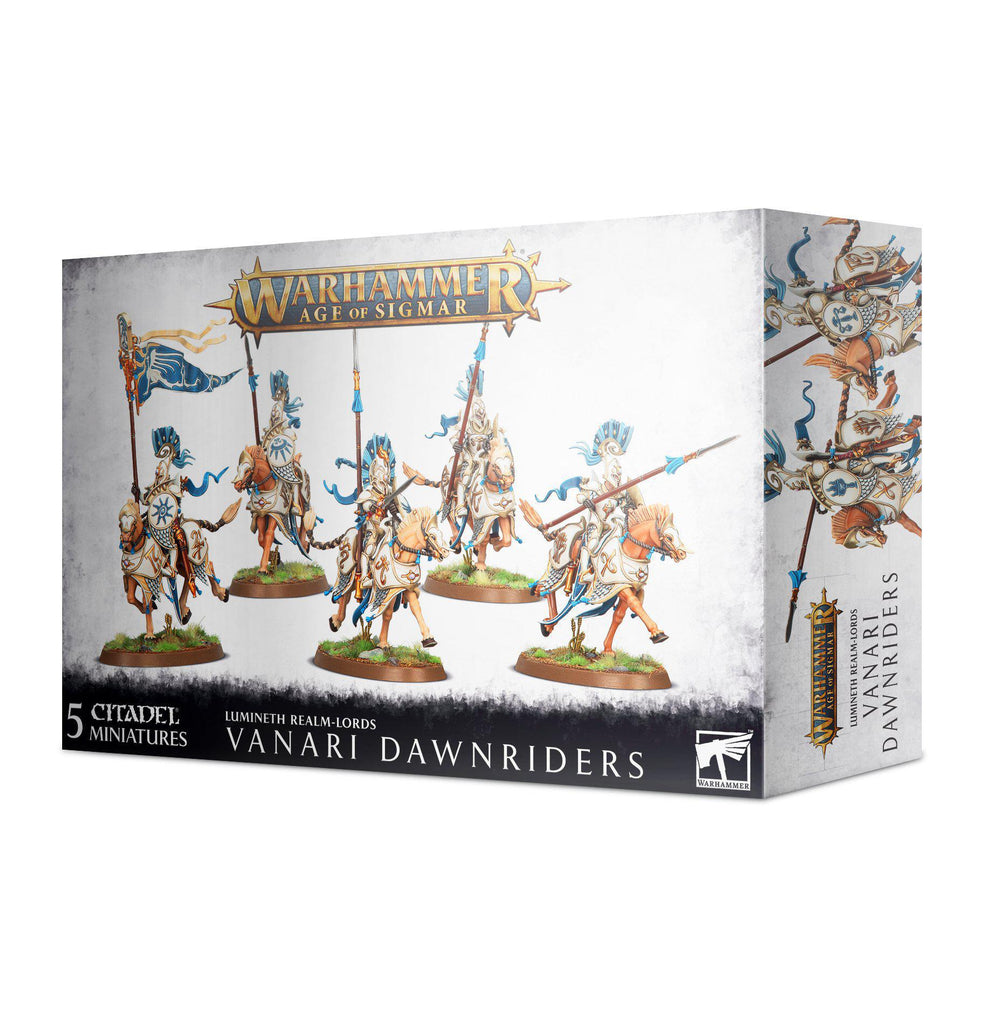 Games Workshop: Age of Sigmar - Lumineth Realm-Lords - Vanari Dawnriders (87-60)