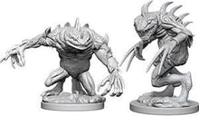 Load image into Gallery viewer, D&D Nolzur's Marvelous Miniatures - Gray Slaad & Death Slaad - Unpainted (WZK73353)