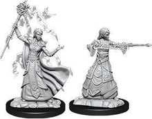 Load image into Gallery viewer, D&D Nolzur's Marvelous Miniatures: Female Elf Wizard - Wave 12 Unpainted (WZK90061)