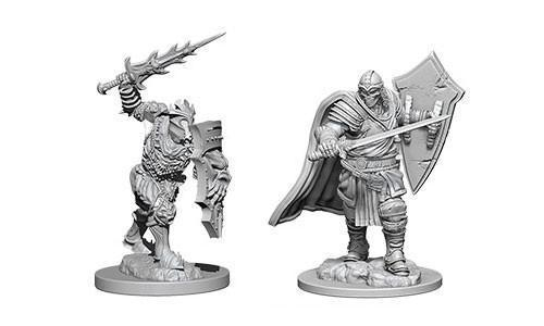 D&D Nolzur's Marvelous Miniatures - Death Knights & Helmed Horror - Unpainted (WZK73399)