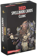 Load image into Gallery viewer, D&D Spellbook Cards - Cleric Deck (149 cards)