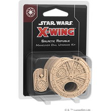Load image into Gallery viewer, Star Wars X-Wing Miniature Game - Galactic Republic Maneuver Dial Upgrade Kit - Star Wars X-Wing Miniature Game 2nd Ed