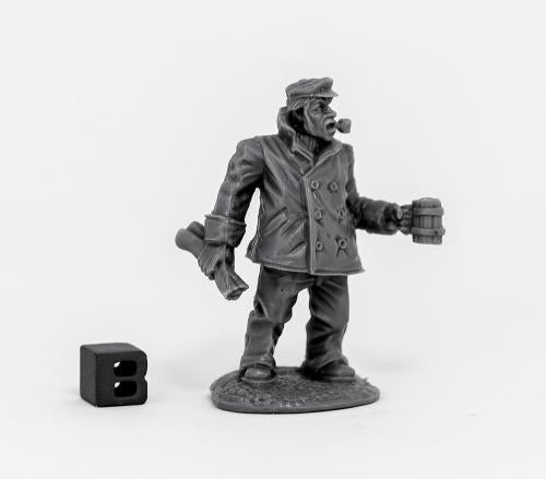 Reaper Miniatures - Ship Captain - Unpainted
