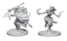 Load image into Gallery viewer, D&D Nolzur's Marvelous Miniatures - Female Tiefling Warlock - Unpainted (WZK73389)