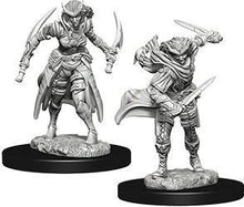 Load image into Gallery viewer, D&D Nolzur's Marvelous Miniatures - Tiefling Female Rogue - Unpainted (WZK73339)
