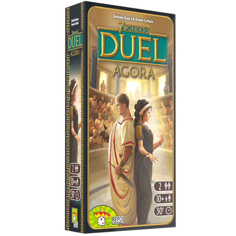 7 Wonders: Duel - Agora Expansion