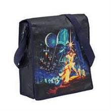 Load image into Gallery viewer, Star Wars A New Hope Recycled Messenger Tote Bag