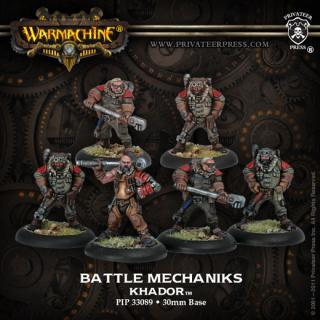 Warmachine: Khador - Battle Mechaniks Unit