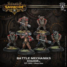 Load image into Gallery viewer, Warmachine: Khador - Battle Mechaniks Unit