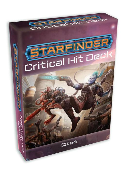 Starfinder RPG: Critical Hit Deck