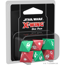 Load image into Gallery viewer, Star Wars X-Wing Miniatures Game - Dice Pack - X-Wing 2nd Edition