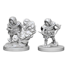 Load image into Gallery viewer, D&D Nolzur's Marvelous Miniatures - Halfling Male Rogue - Unpainted