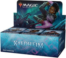 Load image into Gallery viewer, Magic the Gathering: Kaldheim - Draft Booster Box (36)