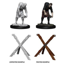 Load image into Gallery viewer, WizKids Deep Cuts Miniatures - Assistant and Torture Cross - Unpainted (WZK73424)