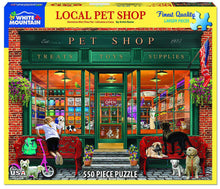 Load image into Gallery viewer, White Mountain Puzzles: Local Pet Store - 550 Piece Puzzle