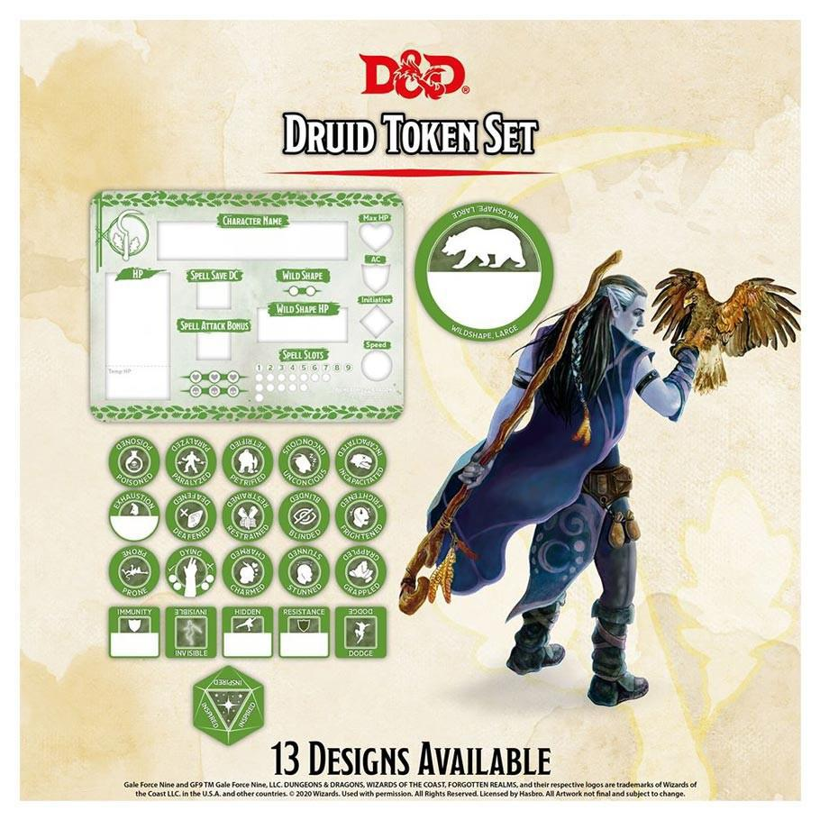 D&D: Token Set - Druid