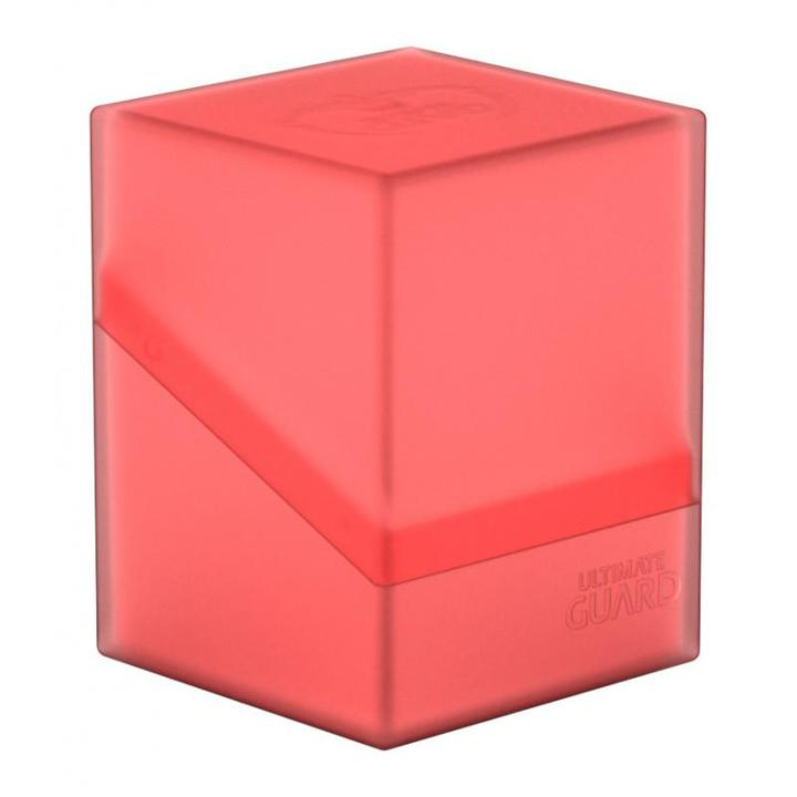 Ultimate Guard: Boulder 100+ Deck Box - Ruby (Red)