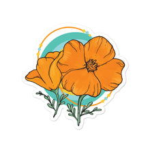 Load image into Gallery viewer, Bubble-free stickers - Poppy Logo
