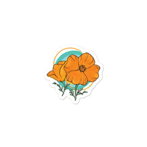 Bubble-free stickers - Poppy Logo