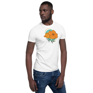 Short-Sleeve Unisex T-Shirt - Poppy Logo