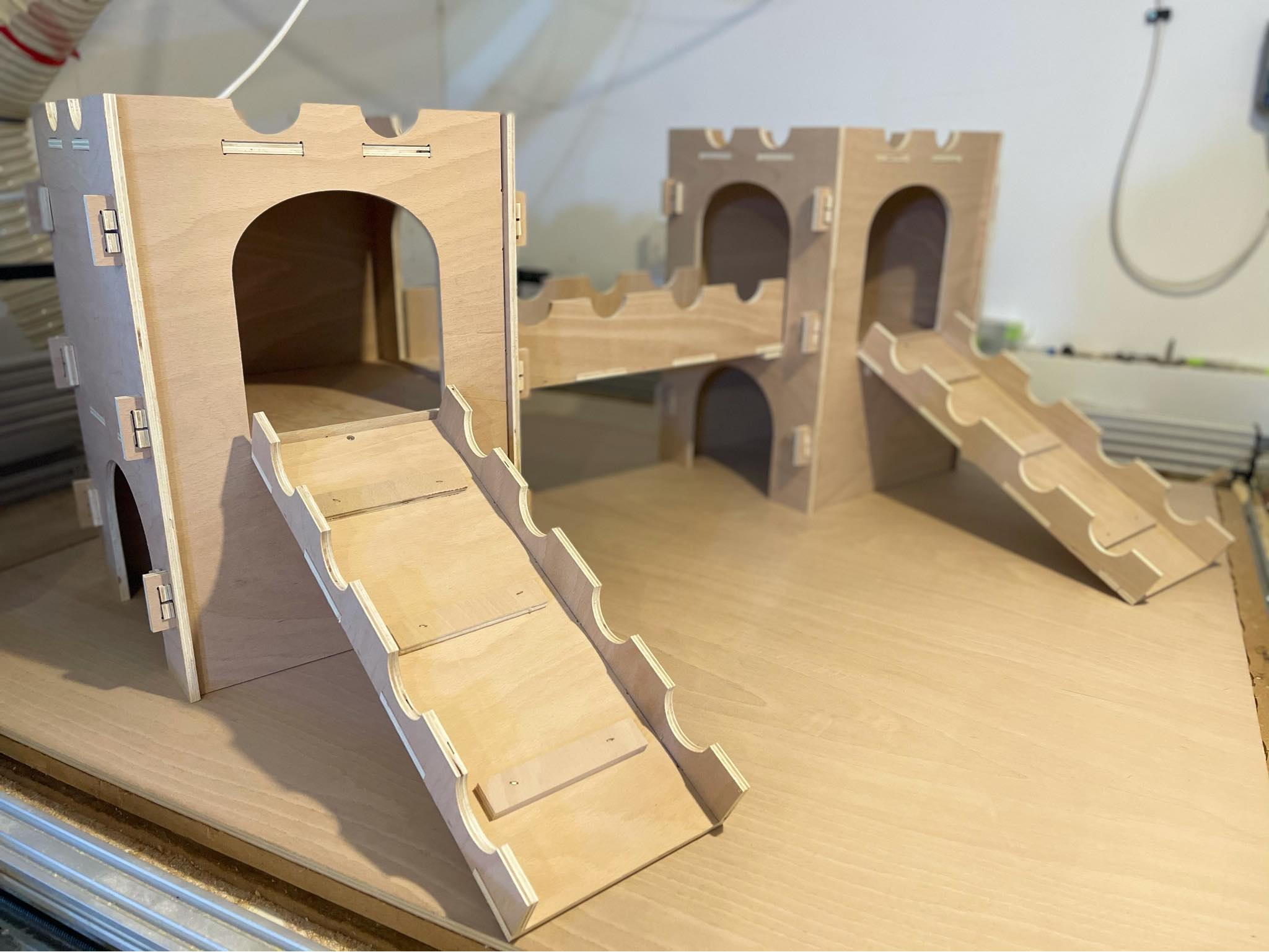 Two Ramp Castle - Flat Pack